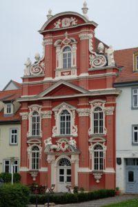 Foto vom Westportal der Kartäuserkirche Erfurt, Mai 2015